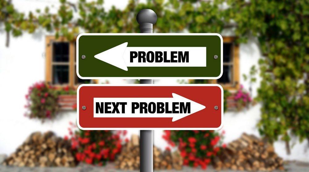 """problem"" signs"